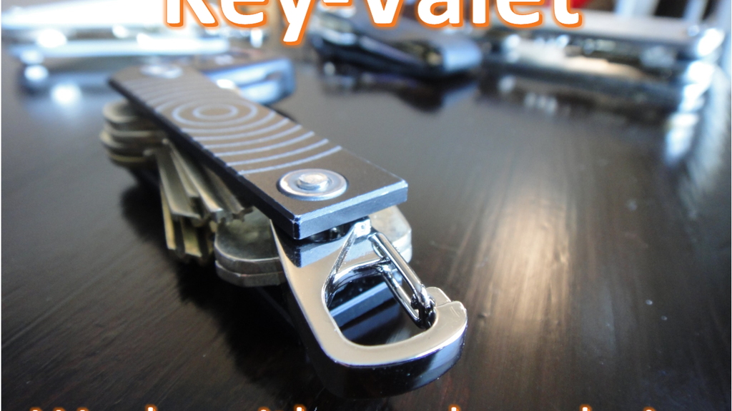 Titanium Key-Valet: Great for your car keys and USBs project video thumbnail