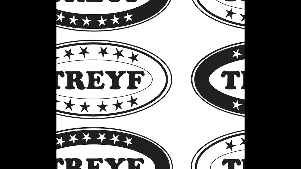 Treyf stickers spiritual food safety by ben schachter - Stickers protection cuisine ...