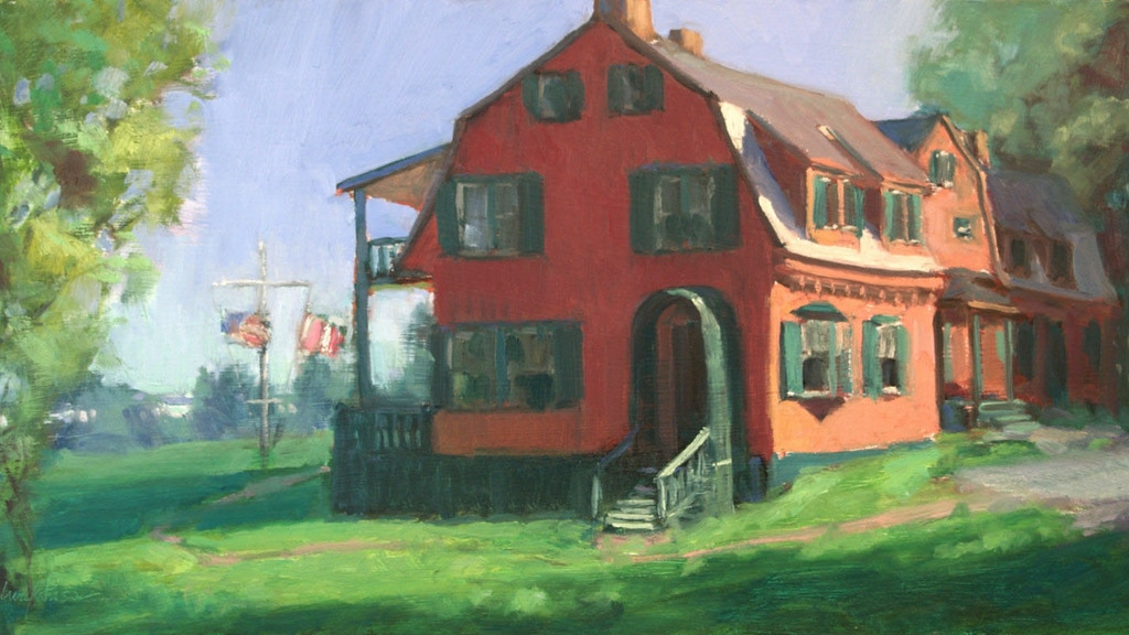 50 Paintings Roosevelt-Campobello Intl Park 50th Anniversary project video thumbnail