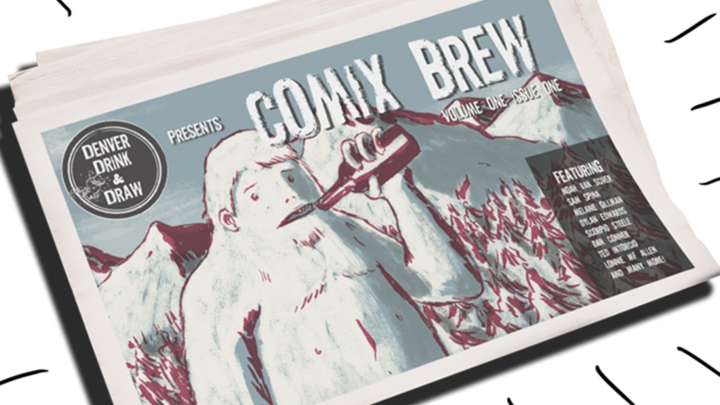 COMIX BREW: A Free Comics Newspaper project video thumbnail