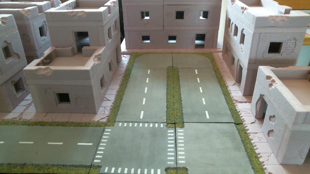 Miniature Wargaming Urban Terrain System By Stephen