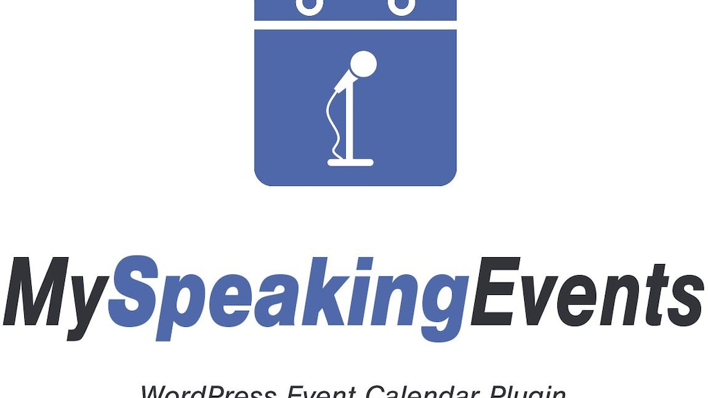 MySpeakingEvents - Event Calendar for Professional Speakers project video thumbnail