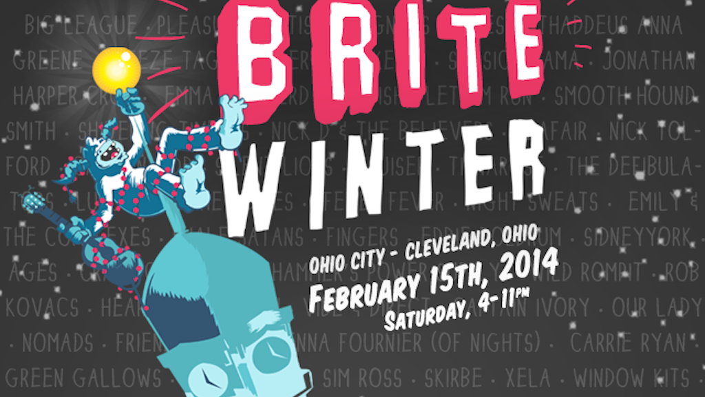 The 5th Annual BRITE WINTER in Cleveland, OH project video thumbnail