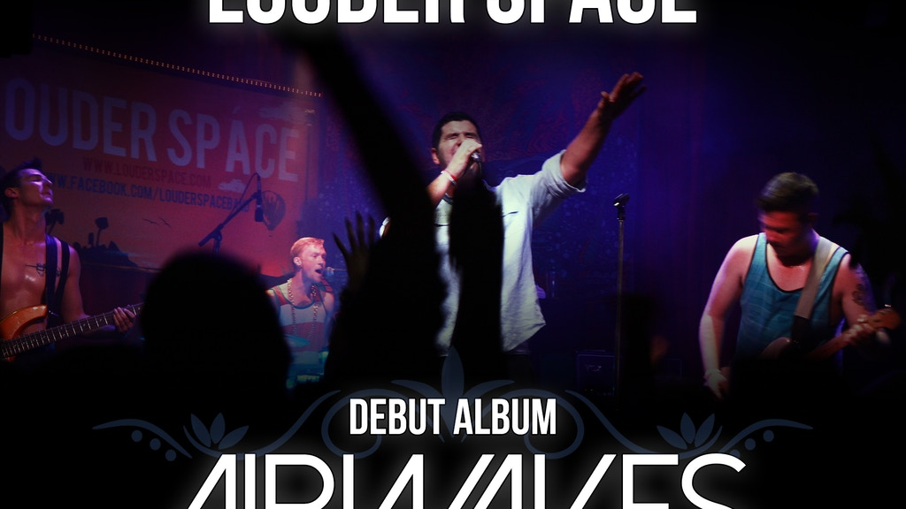 "Louder Space Debut Album - ""Airwaves"" project video thumbnail"