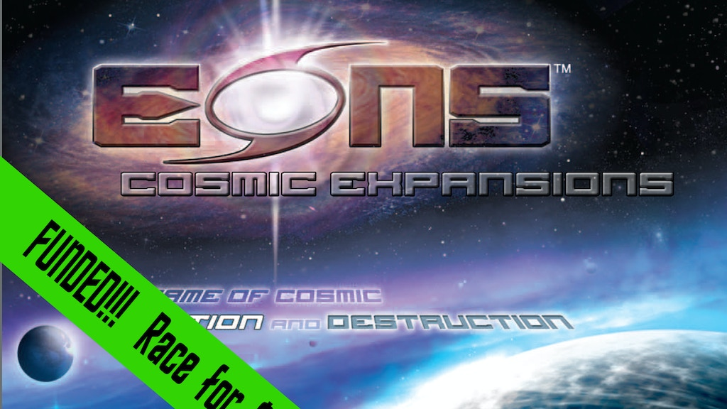 EONS: Cosmic Expansions project video thumbnail