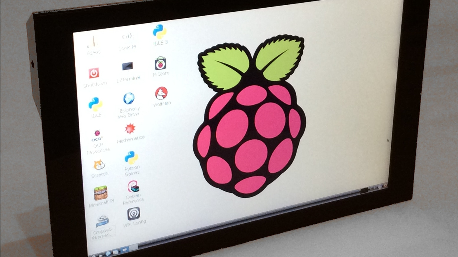 Pitouch 10 Touchscreen Monitor For Raspberry Pi Mac Pc By Psi Learn Python And Electronics With Minecraft Edition