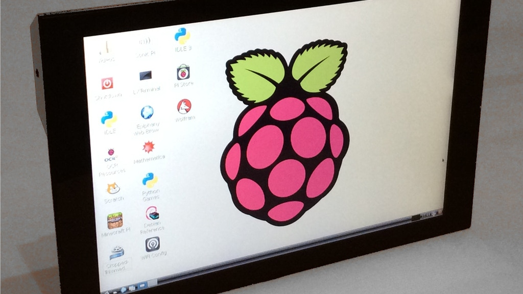 "PiTouch: 10"" Touchscreen Monitor for Raspberry Pi / Mac / PC project video thumbnail"