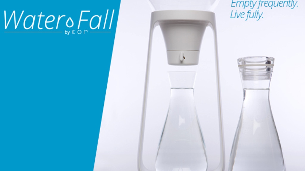 Water Fall, by KOR - The Pour-Over Water Filter project video thumbnail