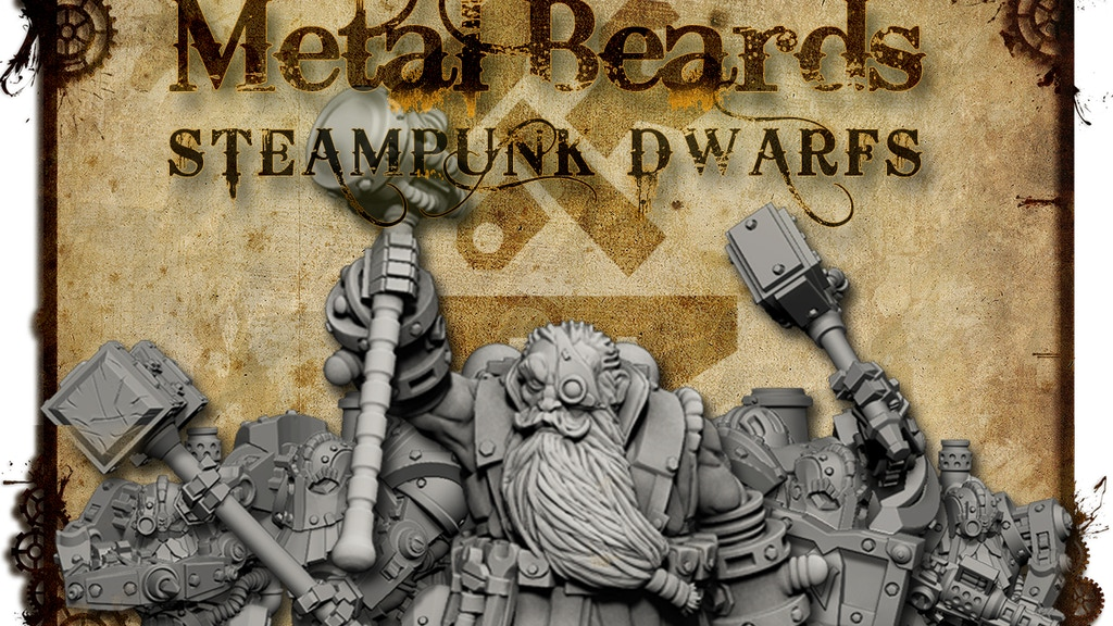 Metal Beards - Tabletop Dwarf Army project video thumbnail