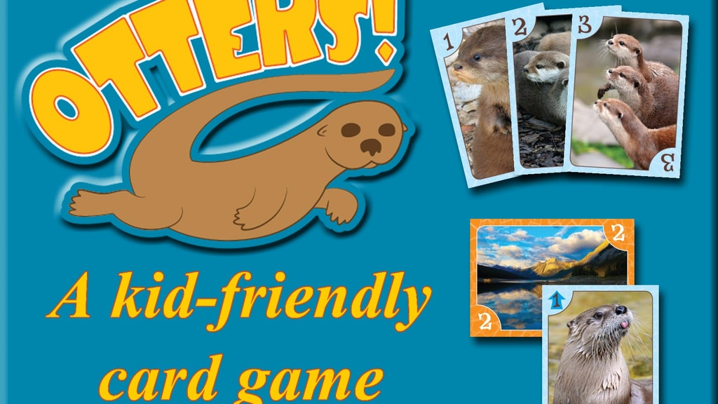 Otters! A kid-friendly card game project video thumbnail