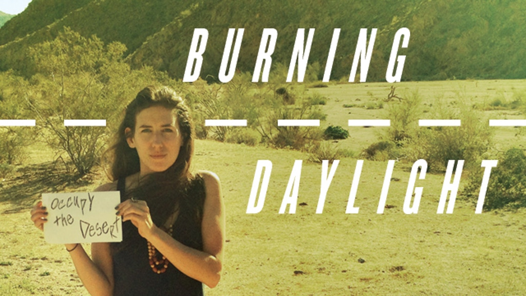 Burning Daylight - A cross country standup tour on foot. project video thumbnail