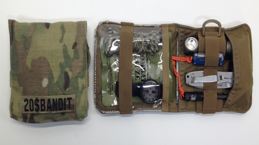 Mini Kit (MK-7) Tactical Multicam Nylon Gear Pouch project video thumbnail