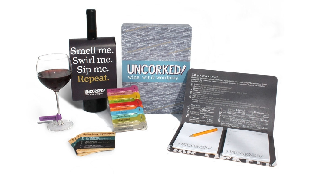 UNCORKED! The hilarious game of wine, wit & wordplay project video thumbnail