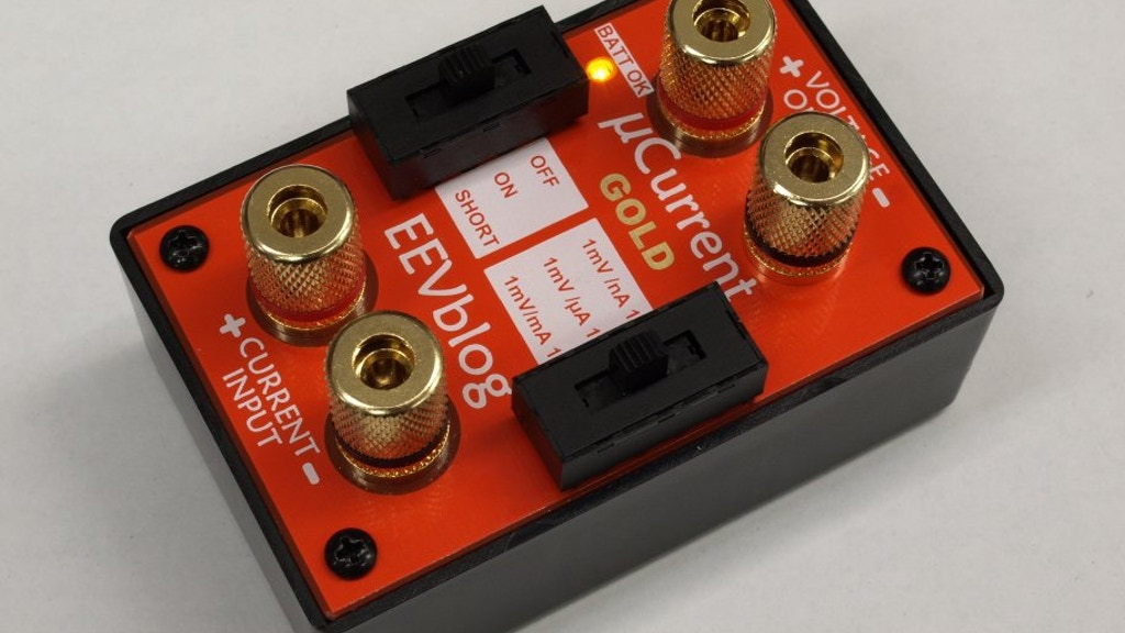 µCurrent GOLD - Precision Multimeter Current Adapter project video thumbnail