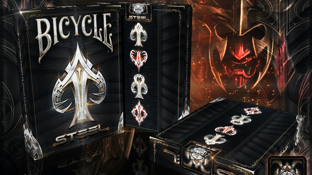 Bicycle Steel Playing Cards deck project video thumbnail