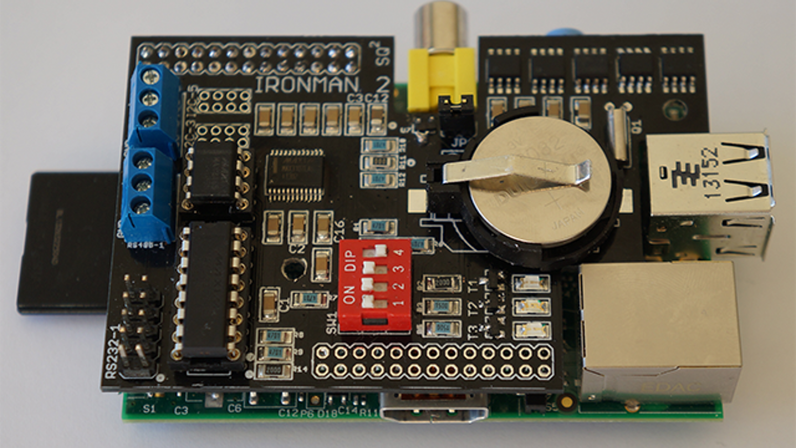 Non-Volatile 4MB F-RAMDisk for the Raspberry Pi + extras by