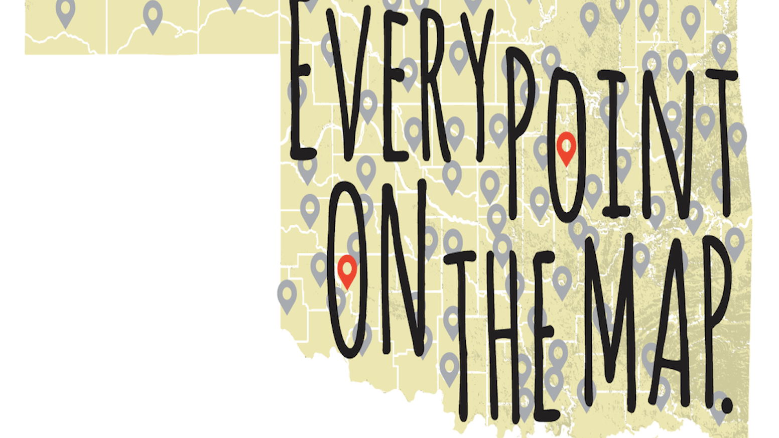 A multi-media, cultural quest to complete a meaningful conversation with one person at each of the 593 points on State of Oklahoma map. Visit us at http://www.reddirtchronicles.com/