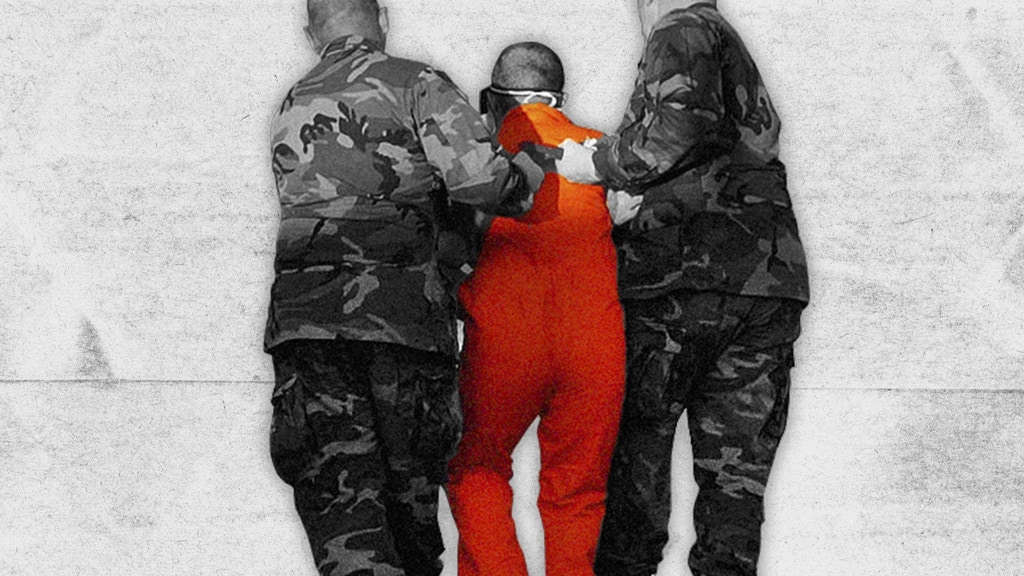 Red, White, [Black & Blue]: Uncharged at Guantánamo project video thumbnail