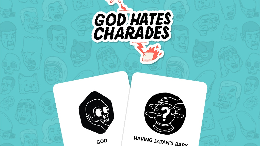 God Hates Charades - This game makes your friends funny! project video thumbnail