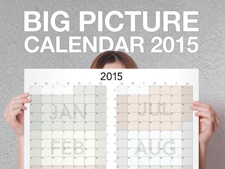big picture calendar 2015 by ed lewis kickstarter