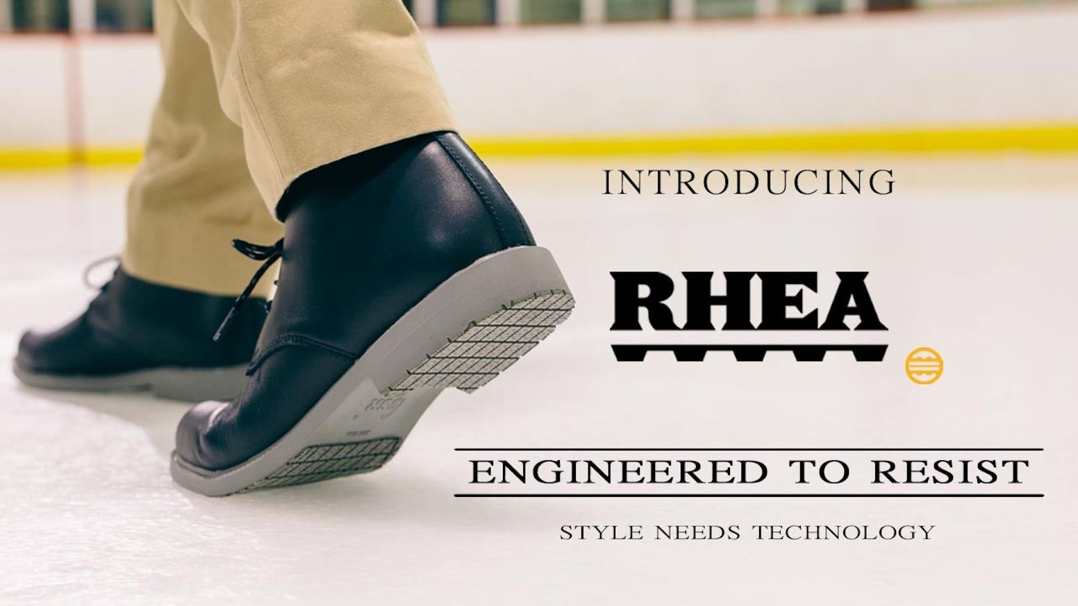 Rhea is launching the first Men and Women classic line, combining patented technology with designed shoes. Yes, Style needs technology.