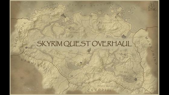 Skyrim Font Overhaul