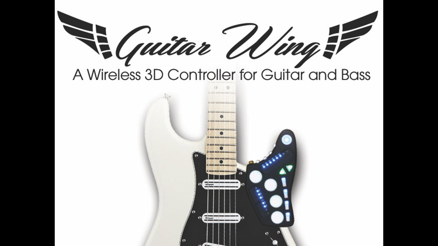 guitar wing wireless control surface for guitar and bass by livid instruments kickstarter. Black Bedroom Furniture Sets. Home Design Ideas
