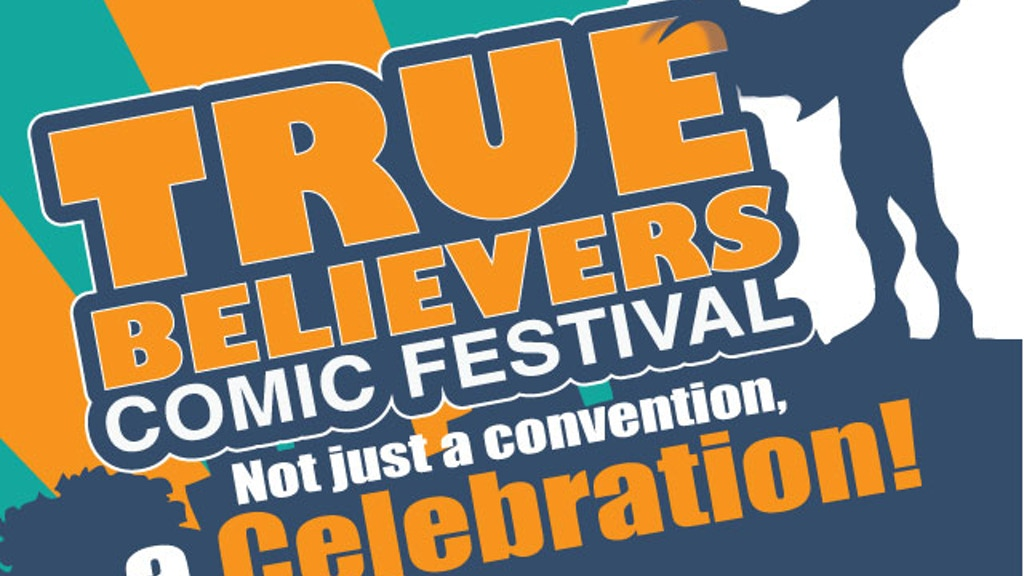 True Believers Comic Festival 2015 project video thumbnail