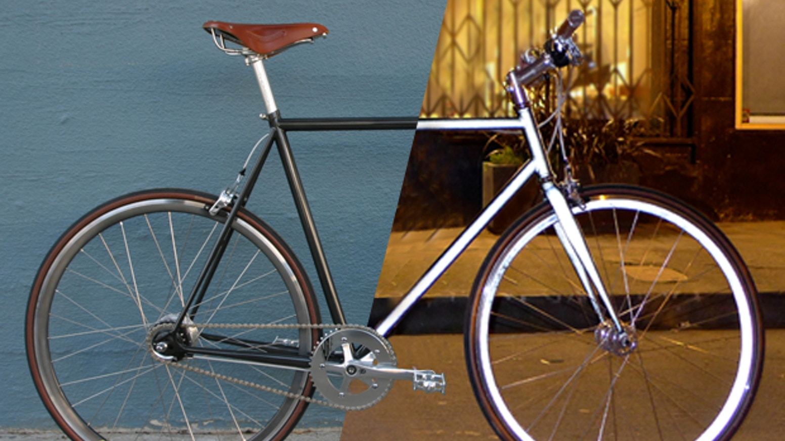 A 100% retro-reflective city bicycle inspired by late nights, city lights, and full moons. Designed and built in San Francisco.
