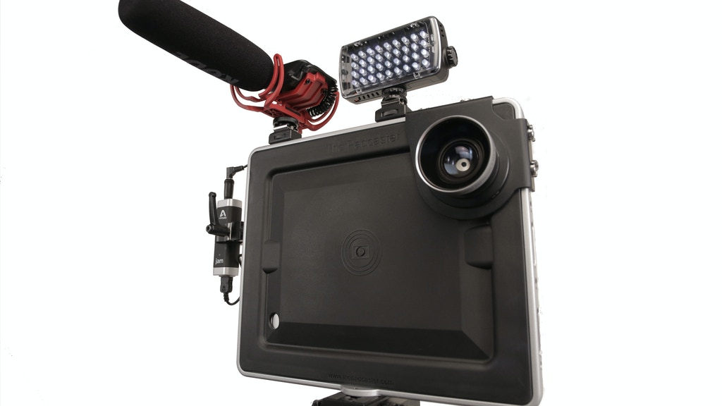 Padcaster Mini: On-the-Fly Filmmaking With the iPad mini project video thumbnail