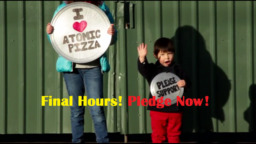 Atomic Pizza is Moving... One Block project video thumbnail