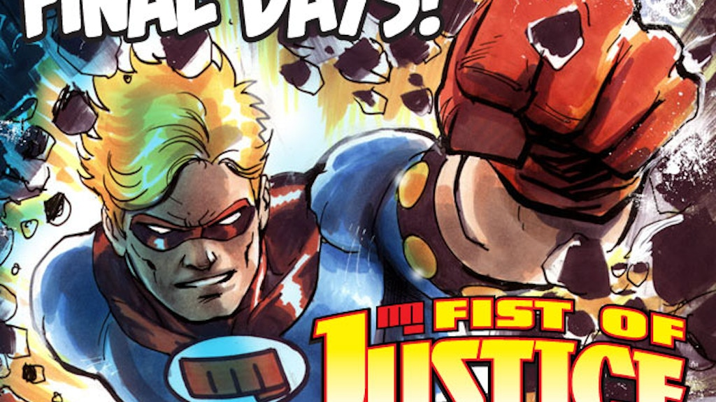 Fist of Justice Volume 1 TP project video thumbnail