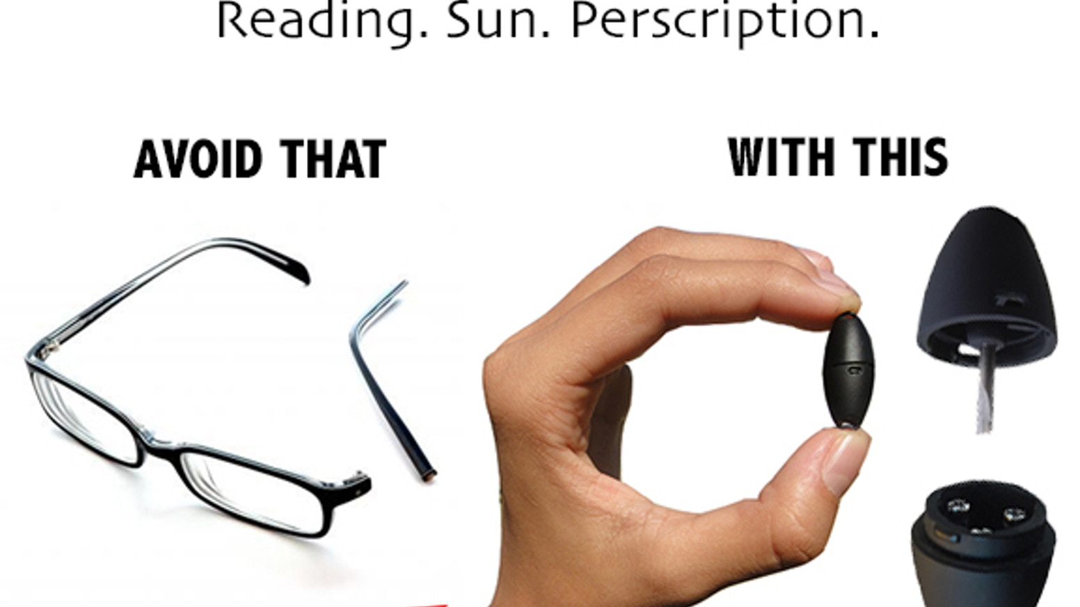 E-SEE-ER, the always handy, quick fix-eyeglass repair kit! by Guy ...