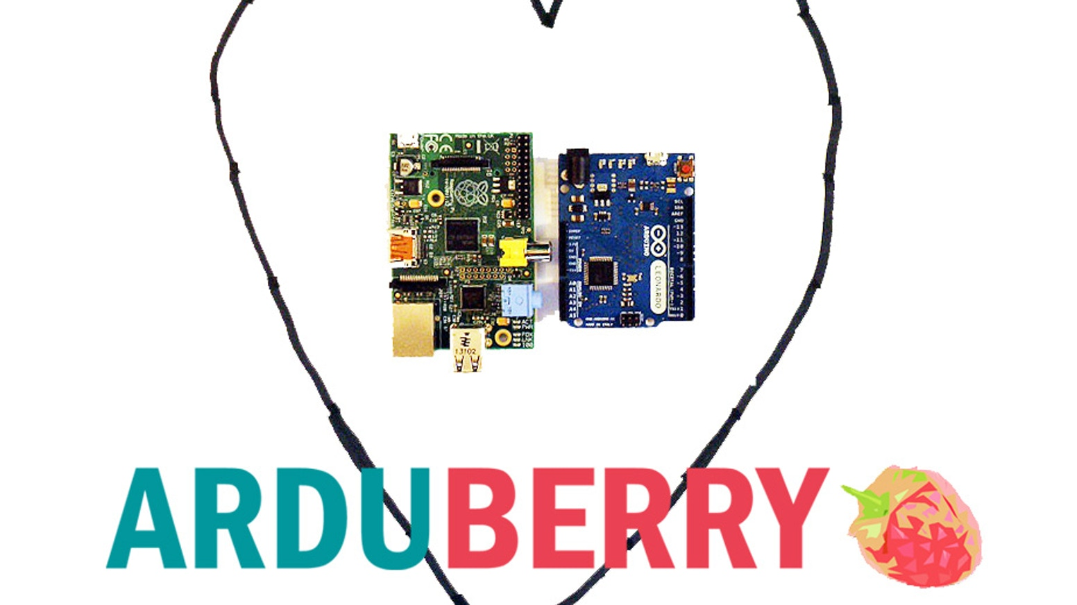 Arduberry unites Arduino shields and the Raspberry Pi with a simple, inexpensive hardware solution. Slide on, copy your code, and go.