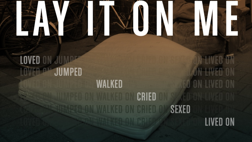 Lay It On Me project video thumbnail