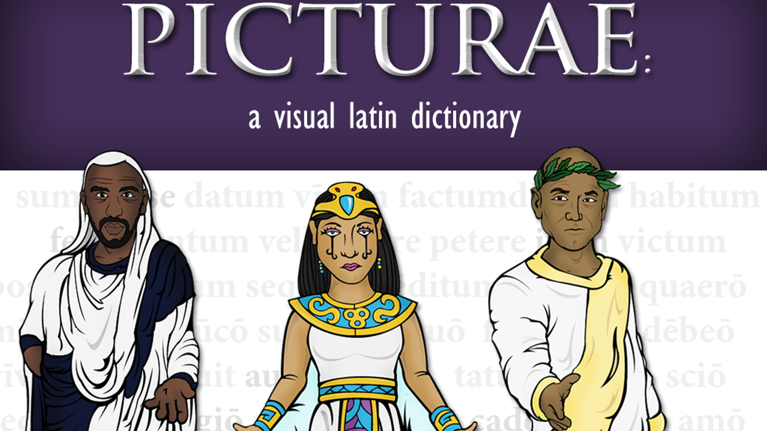 The Picturae project seeks to create a visual dictionary of Latin words that contextualizes vocabulary for beginning Latin students.