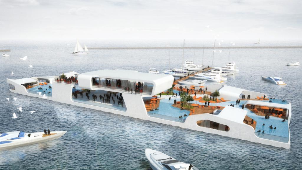 BREAKWATER CHICAGO: luxury yacht meets island resort project video thumbnail