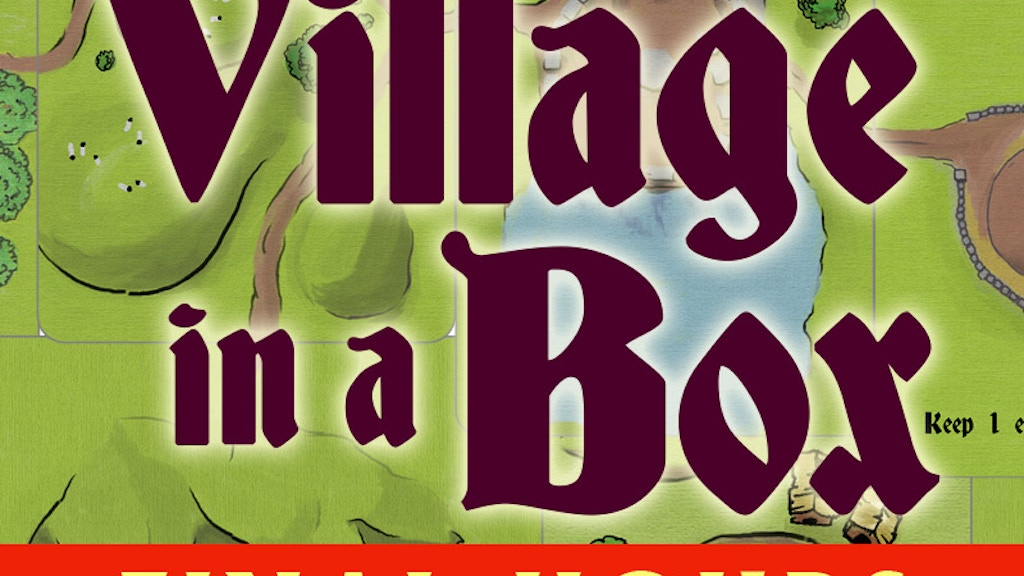 Village in a Box project video thumbnail
