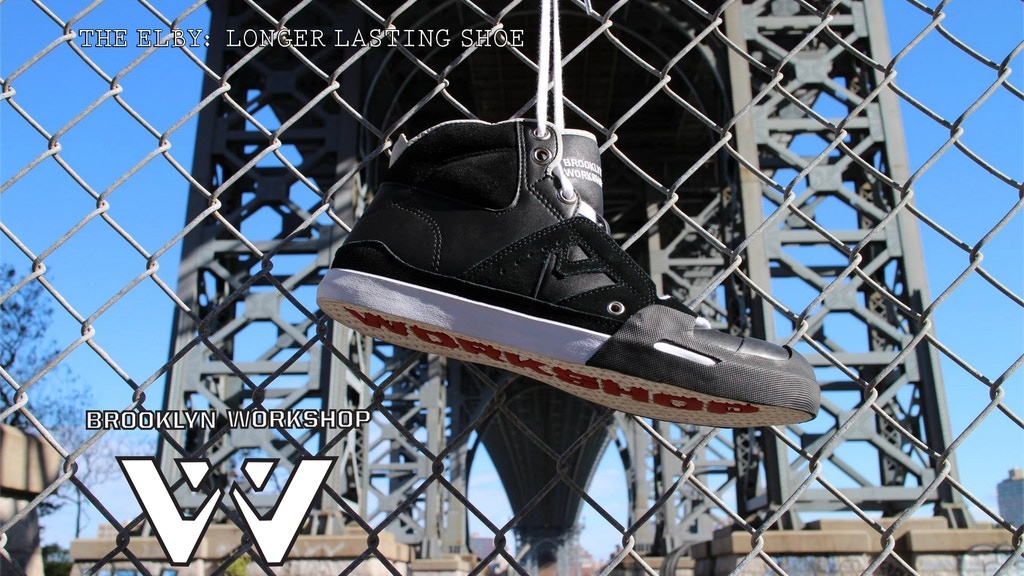 Elby: A long lasting vulcanized shoe from Brooklyn Workshop project video thumbnail