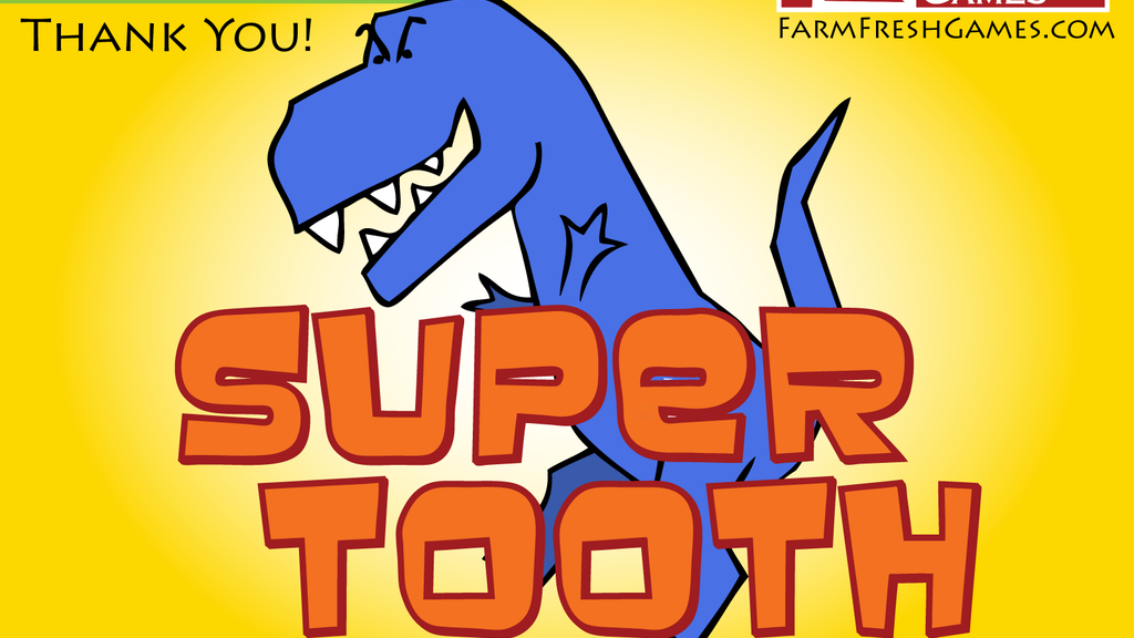 Super Tooth: A Super Fun & Fast Family-Friendly Card Game project video thumbnail