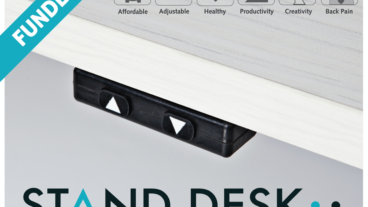 """Think, work, and live better with the most affordable """"automatic"""" sit-to-stand desk."""