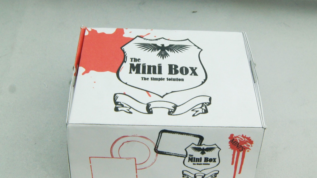 The Mini Box - Simple Storage Solution project video thumbnail