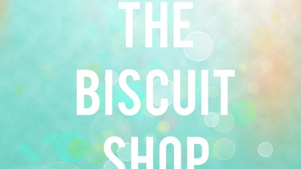 The Biscuit Shop By Michelle Tehan