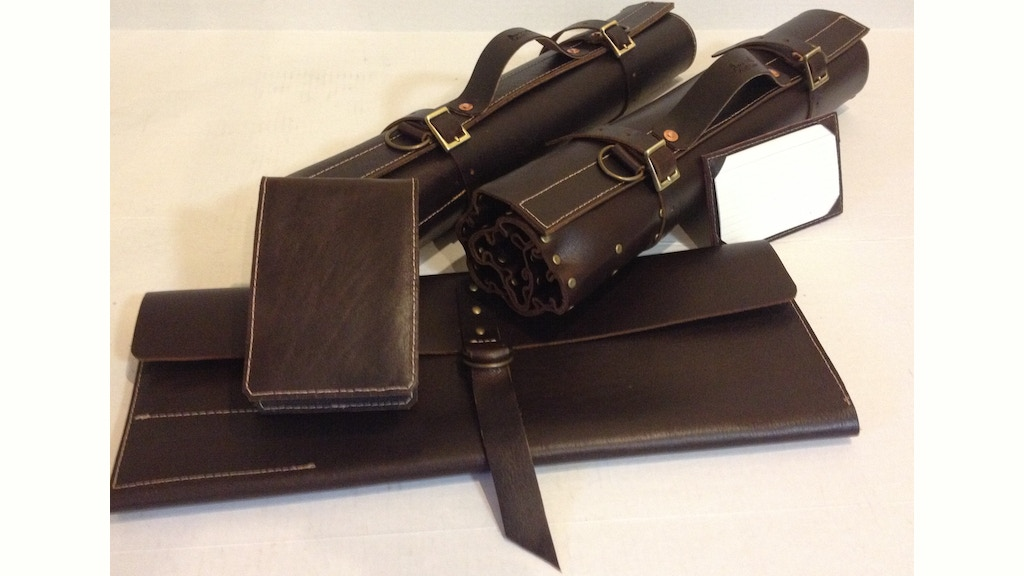 adam o leathers chef knife rolls by adam oliver kickstarter. Black Bedroom Furniture Sets. Home Design Ideas