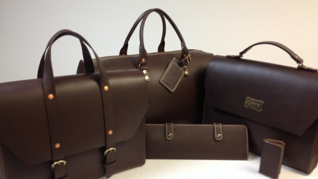 Adam O. Leathers Bags - Guaranteed For Life project video thumbnail