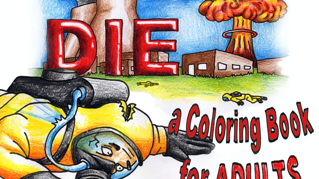 99 Ways To Die - A coloring book for ADULTS project video thumbnail