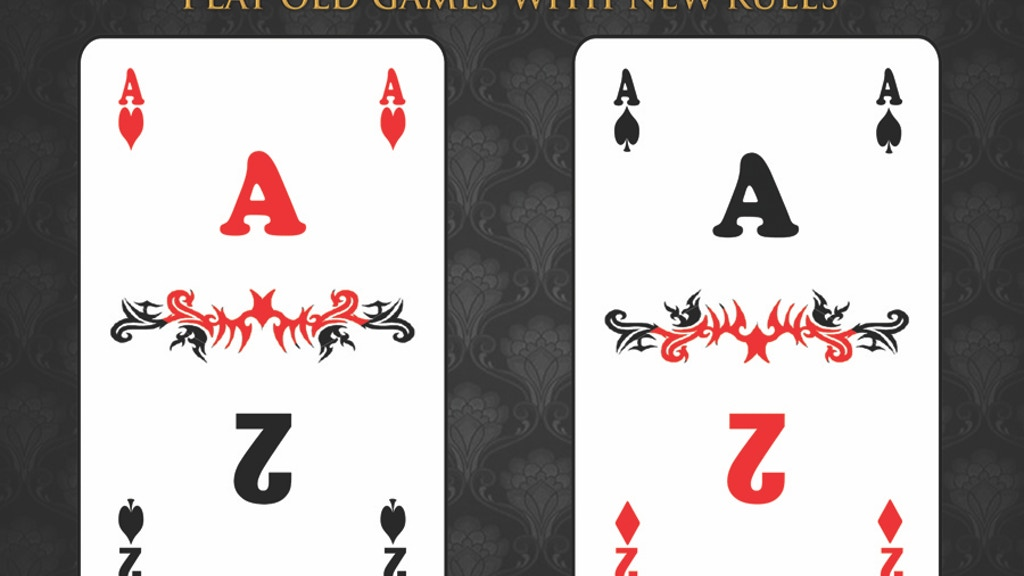 Project image for 2-in-1 Playing cards: 2-deck poker (Canceled)