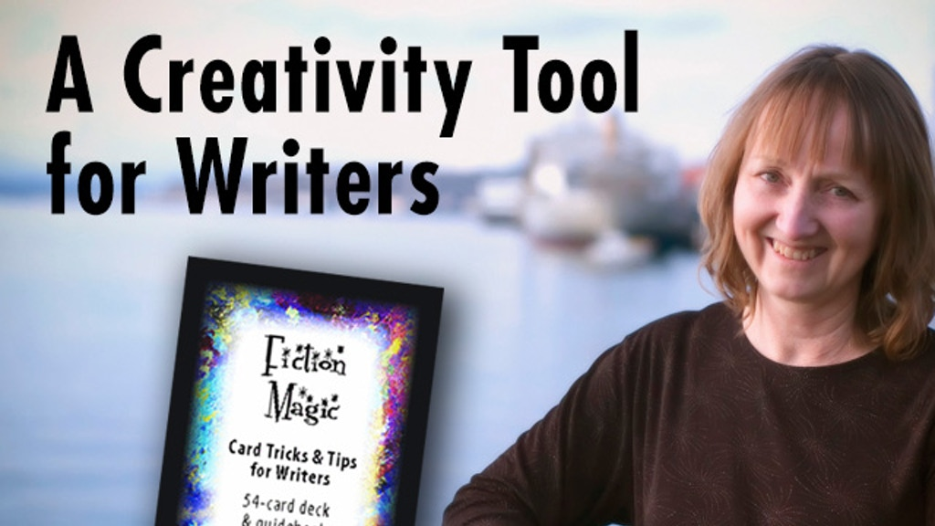 FICTION MAGIC: Card Tricks & Tips for Writers project video thumbnail