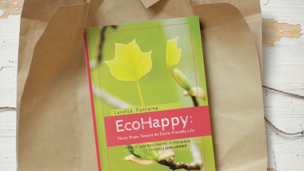 EcoHappy: Three Steps Toward An Earth-Friendly Life project video thumbnail