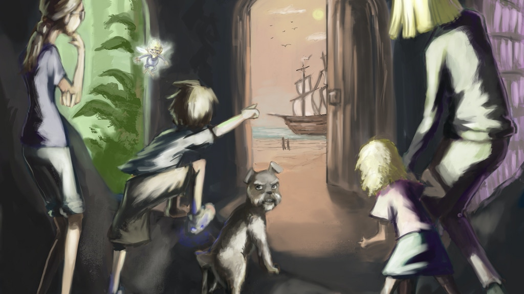 The Undergrounds: a Family-Fantasy-Adventure Series project video thumbnail